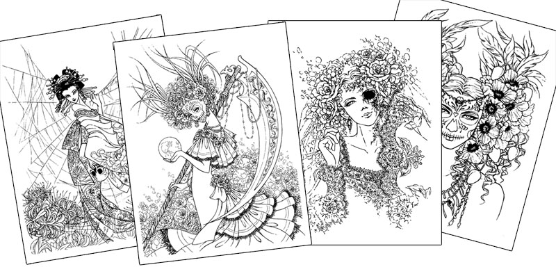 Download A Free Sampler Page To Color