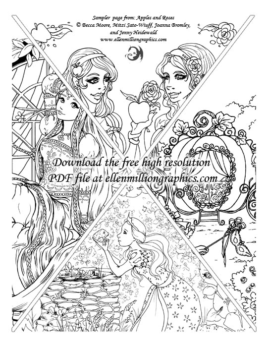 Wonderful Fairy Tale Style Coloring For Grown Ups Very Whimsical And Unique Would Recommend Shyla Jannusch On Amazon
