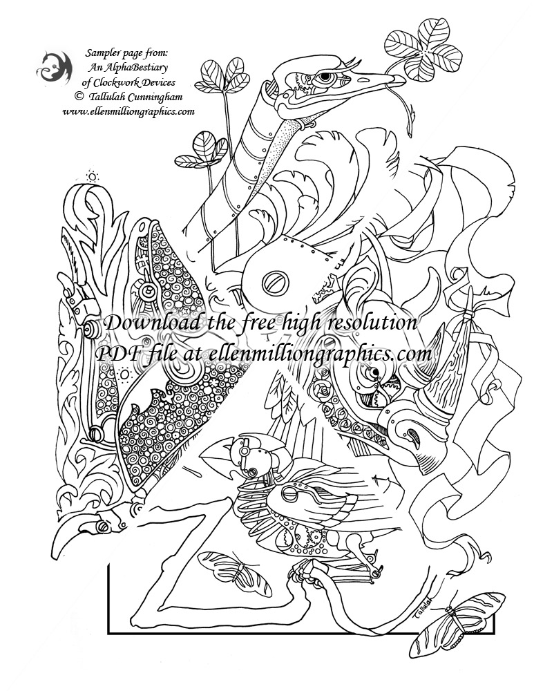 Download A High Resolution Coloring Page Sampler