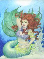 Underwater Bellydancer
