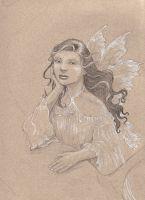 Sad Fairy Sketch