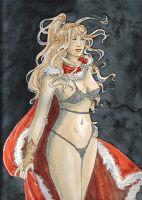 Chainmail Bikini Girl