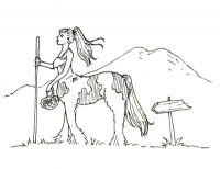 Gypsy Vanner Centaur